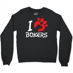I Love Boxers Crewneck Sweatshirt   Artistshot