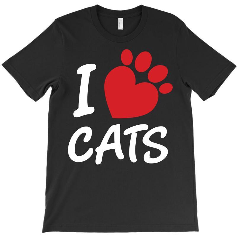 I Love Cats T-shirt | Artistshot