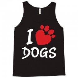 I Love Dogs Tank Top | Artistshot