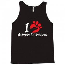i love German Shepherds Tank Top | Artistshot