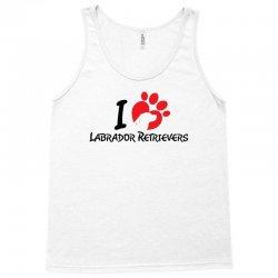 I Love Labrador Retrievers Tank Top | Artistshot