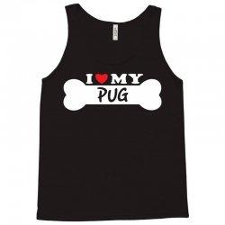 I Love My Pug Tank Top | Artistshot