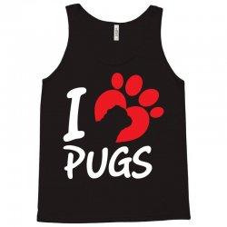 I Love Pugs Tank Top   Artistshot