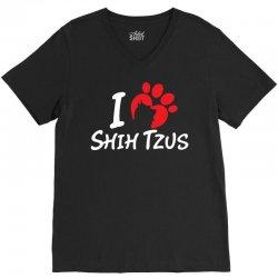 I Love Shih Tzus V-Neck Tee | Artistshot