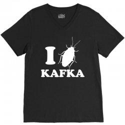 I LoveFrank Kafka V-Neck Tee | Artistshot