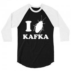 I LoveFrank Kafka 3/4 Sleeve Shirt | Artistshot