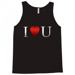I love u heart Tank Top | Artistshot
