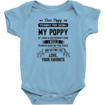Dear Poppy, Love, Your Favorite Baby Bodysuit