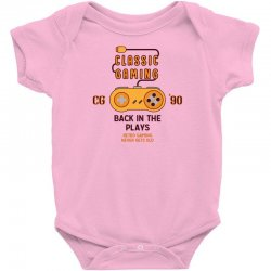 Classic Gaming - Back In The Plays Baby Bodysuit   Artistshot