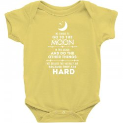 We Choose to Go to The Moon Baby Bodysuit | Artistshot