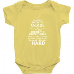 We Choose to Go to The Moon Baby Bodysuit | Artistshot