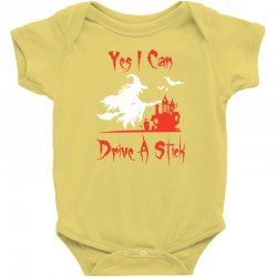 yes i can drive a stick funny Baby Bodysuit   Artistshot