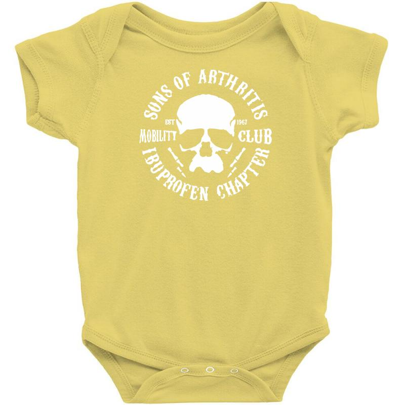 262fcae3 Custom Sons Of Arthritis Funny Soa Parody Baby Bodysuit By Mdk Art ...
