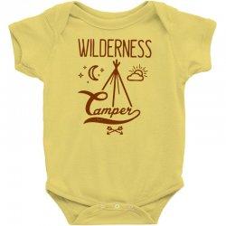 wilderness camper Baby Bodysuit | Artistshot