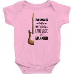 music quotes Baby Bodysuit | Artistshot