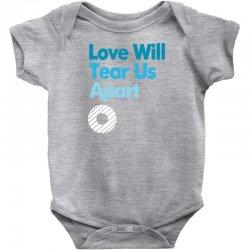 Love Will Never Tear Us Apart Baby Bodysuit   Artistshot