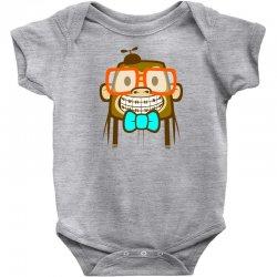 geek monkey Baby Bodysuit | Artistshot