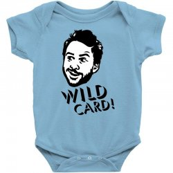 wild card Baby Bodysuit   Artistshot