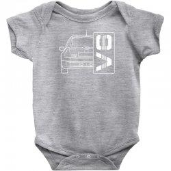 renault clio sport v6 sports car Baby Bodysuit | Artistshot