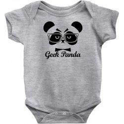 Geek Panda Baby Bodysuit | Artistshot