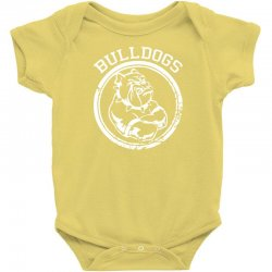 Bulldog Sports Team Baby Bodysuit | Artistshot