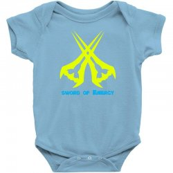 Sword Of The Energy Baby Bodysuit   Artistshot