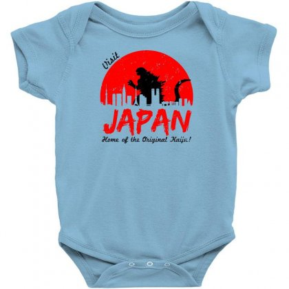 Visit Japan Baby Bodysuit Designed By Specstore