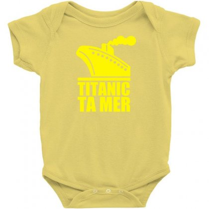 Titanic Ta Mer Baby Bodysuit Designed By Specstore