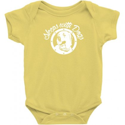 Sleeps With Dogs Baby Bodysuit Designed By Specstore