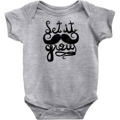 Let It Grow Baby Bodysuit Designed By Specstore