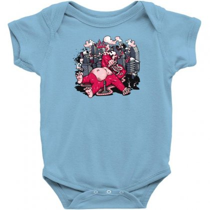 King Of Kong Baby Bodysuit Designed By Specstore
