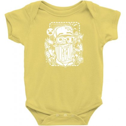 Hobby Sickness Baby Bodysuit Designed By Specstore