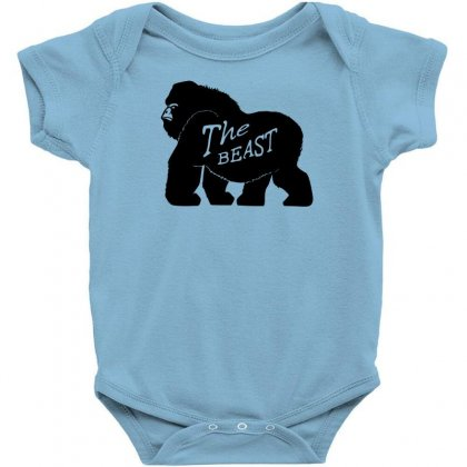 Gorilla The Beast Baby Bodysuit Designed By Specstore