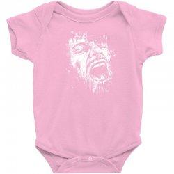 Scream Face Baby Bodysuit | Artistshot