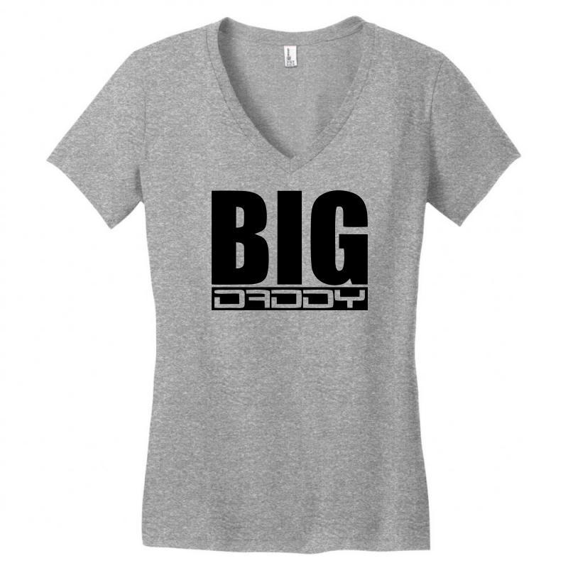 967d4db1 Custom Big Daddy Women's V-neck T-shirt By Sbm052017 - Artistshot