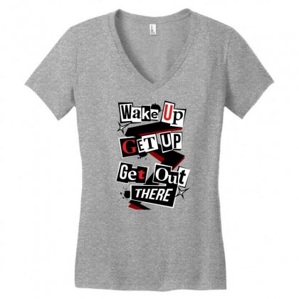 Persona 5 Women's V-neck T-shirt Designed By Vr46