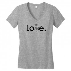 Love Women's V-Neck T-Shirt | Artistshot