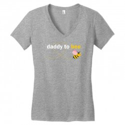 Daddy To Bee Women's V-Neck T-Shirt | Artistshot