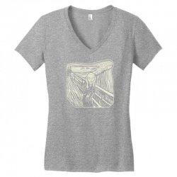 the scream Women's V-Neck T-Shirt | Artistshot