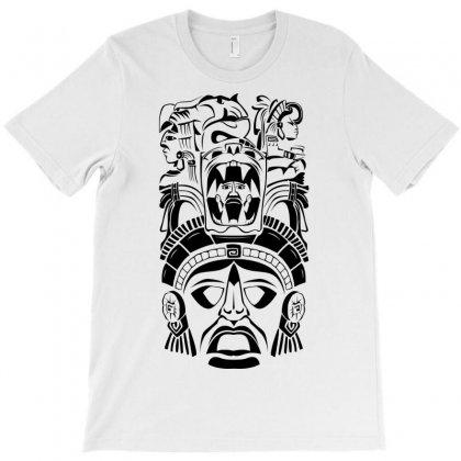 Aztec Design Totem T-shirt Designed By Sbm052017