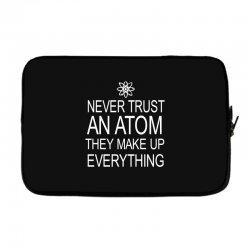an atom Laptop sleeve | Artistshot