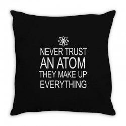 an atom Throw Pillow | Artistshot