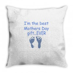 best mother day gift ever Throw Pillow   Artistshot