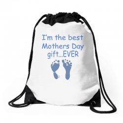 best mother day gift ever Drawstring Bags   Artistshot