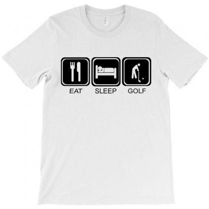 Eat,sleep,golf T-shirt Designed By Suryanaagus