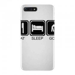 eat,sleep,golf iPhone 7 Plus Case | Artistshot