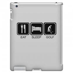 eat,sleep,golf iPad 3 and 4 Case | Artistshot
