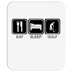 eat,sleep,golf Mousepad | Artistshot