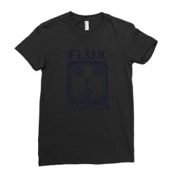 flux capacitor Ladies Fitted T-Shirt | Artistshot