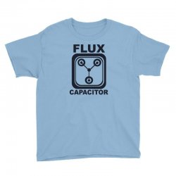 flux capacitor Youth Tee | Artistshot